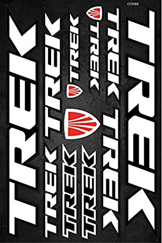 Trek Fahrradrahmen Aufkleber Aufkleber Grafik Set Vinyl Adesivi (Model A)