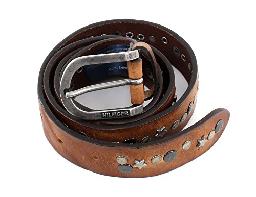 Tommy Hilfiger Star Stud Belt 3.0 W80 Tan Stud Belt