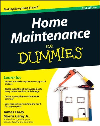 Home Maintenance...