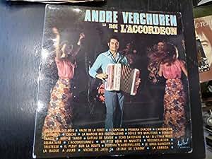 André Verchuren le roi de l'accordéon - double album 109 - disques festival