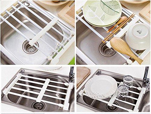 Credenza Con Frigo : Mensola portaoggetti con griglia regolabile per cucina credenza