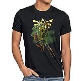 style3 Adventure Link Herren T-Shirt Game Gamer, Größe:S