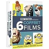 Illumination présente - Coffret 6 films : Moi Moche et Méchant 1 à 3 + Les Minions + Comme des bêtes + Tous en scène
