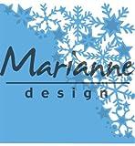 Marianne Design Snowflakes Corner creatables Plantillas