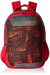 American Tourister 25 Ltrs Red Casual Backpack (CLICK 2016)