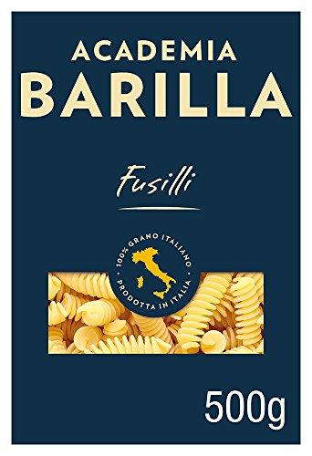 Barilla Hartweizen Pasta Academia Fusilli - 12er Pack (12x500g)