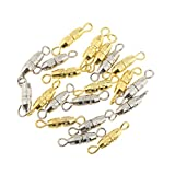 Baoblaze 20er Pack Schmuck Magnetverschlüsse Magnetverschluss Kettenverschluss für DIY Schmuck Ketten Halskette Armbänder
