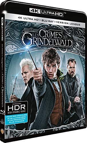 Les animaux fantastiques 2 : les crimes de grindelwald 4k ultra hd [Blu-ray]