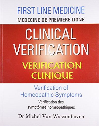 Clinical Verification -- Verification Clinique par Dr Michel Van Wassenhoven