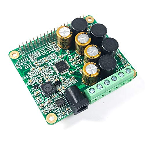 Inno-Maker Raspberry Pi HiFi AMP HAT 25W Class-D Power Amplifier TAS5713  Expansion Board Audio Module for Raspberry Pi 3 B+ Pi Zero Nichicon  Capacitor