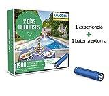 VIVABOX Caja Regalo -2 DIAS DELICIOSOS- 1.900 estancias. Incluye un Regalo