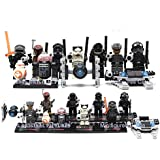 Lego Star Wars The Force Awakens Compatible Figures 8 Pcs - Characters with Ships