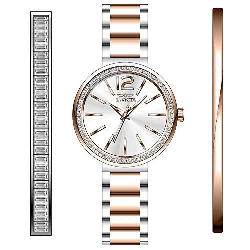 Invicta Angel Reloj de Mujer Cuarzo Correa y Caja de Acero dial Plata 29276