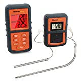 ThermoPro TP08 Barbecue Funk Grillthermometer Set Digitales Bratenthermometer BBQ Thermometer mit 2...
