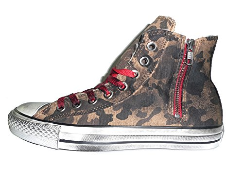 CONVERSE ALL STAR 136034C A/S HI SIDE ZIP CANVAS SHEARLING sneakers unisex Camo