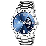 LIMESTONE Avengers Day and Date Functioning Analogue Blue Dial Men's Watch- LS2732