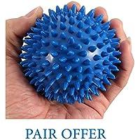 pedimendtm Spiky Massage Ball (2) | Deep Tissue Massage Ball | Plantarfasziitis Massage Ball | selbst Massagegerät... preisvergleich bei billige-tabletten.eu