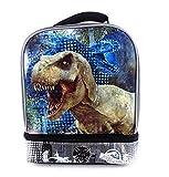 Disney Jurassic World 3D Lenticular Drop Bottom Lunch Kit - Grey by Fast Forward