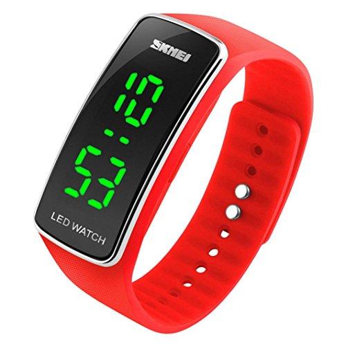 DDLBiz-Uomo-Donna-Moda-silicone-LED-di-sport-del-braccialetto-di-tocco-Orologio-da-polso-digitale-rosso