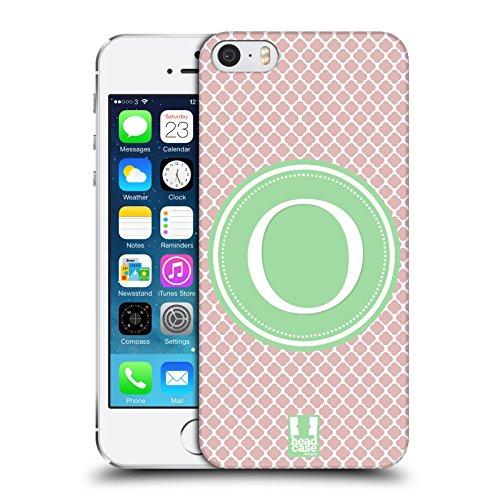 Head Case Designs Lettera R Lettere Cover Retro Rigida per Apple iPhone 7 / 8 Lettera O