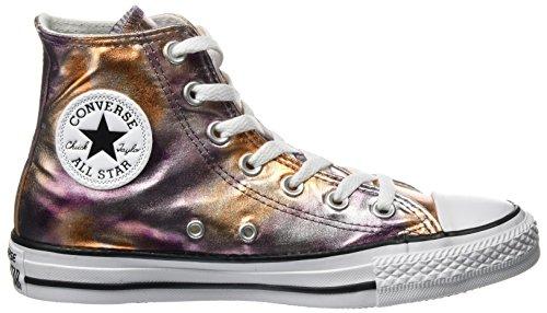 Converse Ctas Hi Crépuscule Rose / Blanc / Noir, Sneaker A Collo Alto Unisexe-adulte Mehrfarbig (crépuscule Rose)