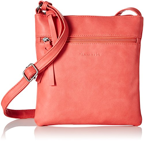 Tamaris Marlene Small Crossbody Bag, sac bandoulière Rouge corail