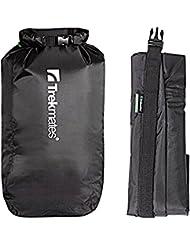 Trekmates Dry Lite Liner XL (22L) - petate negro, 140 g, volumen 22 l, impermeable