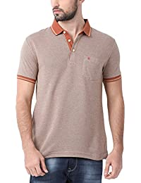 Classic Polo Brown Slim-Fit Polo T-shirt