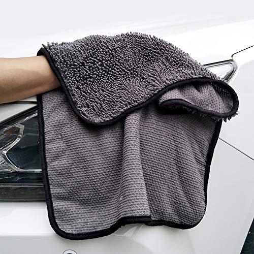 Duk3ichton Auto Reinigungstuch Weiches Wasser Absorption Autofenster Körper Waschen Poliertuch Reinigungstuch Grün - Grüne Haut, Körper Zu Waschen