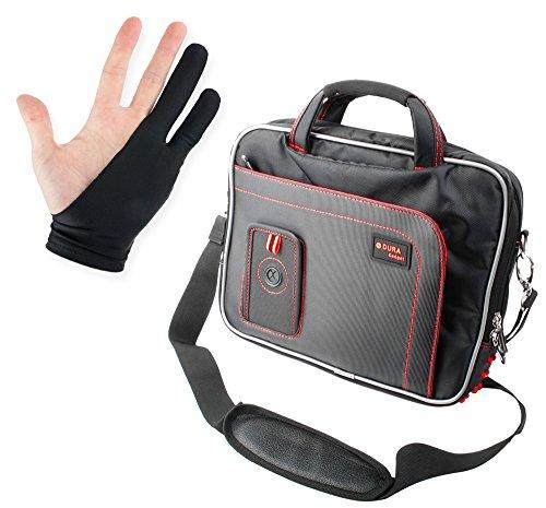 Schultertasche für Wacom Grafiktabletts mit Platz für Zubehör und Antifouling-Handschuh