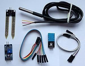 jardin familial capteur pour arduino de vie dht11 module ds18b20 capteur de temp rature. Black Bedroom Furniture Sets. Home Design Ideas