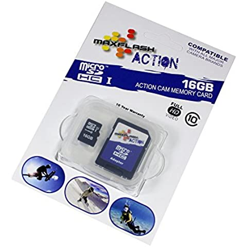 Sandisk 4250552918674 - 16gb micro sd tarjeta de memoria adaptador sd incluido motorola milestone 3 milestone 4 motoluxe (xt615) razr maxx wilder xt316 xt531 defy+ pro+ backflip