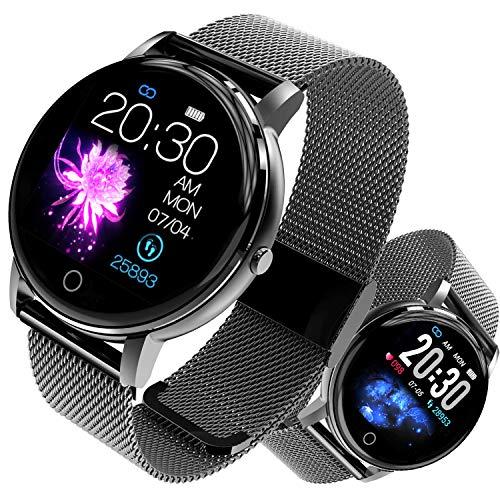 Montre Connectée Smartwatch Femmes Homme Fitness Tracker d'Activité Étanche IP68 Bracelet...