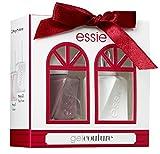 Essie Gel Couture langanhaltender Nagellack Xmas Set 2, take me to thread und top coat