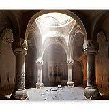 murando - Fototapete Architektur 350x256 cm - Vlies Tapete - Moderne Wanddeko - Design Tapete - Wandtapete - Wand Dekoration - Tempel Säule d-B-0050-a-a