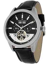Herzog & Söhne Herren-Armbanduhr XL Analog Automatik Leder HS512-122