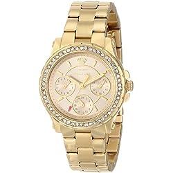 Juicy Couture Women's 1901105 Pedigree Multi-Eye Crystal Bezel Watch