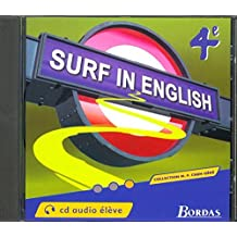Surf in english : 4e, pour l'élève (CD audio), édition 2002 by Collectif (2002-07-12)