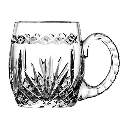 Boccale di birra crystaljulia 5193, cristallo al piombo, trasparente