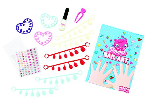 Image of Moshi Monsters Poppet Nail Art