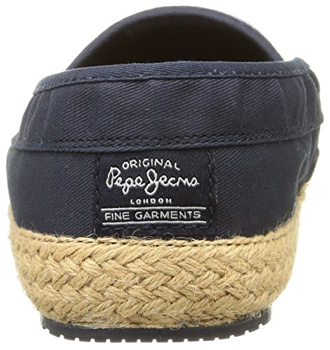 Pepe Jeans Sail Basic, Espadrilles homme Bleu (585 Marine)