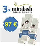 3x Miralash 3 ml Conditioner für Wimpern langen dichte Wimpern SERUM