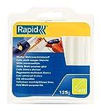 Rapid 40107355 Klebesticks Weiß Universal, 125 g, 13 Sticks, Universeller Heiβkleber, Klebestifte für Klebepistole 11 mm, 12 mm, Stück