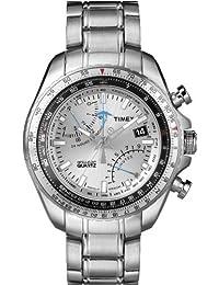 Timex Herren-Armbanduhr Intelligent Quartz Analog Quarz Edelstahl T2P104