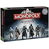 Board Game - Assassins Creed Monopoly-Brettspiel -. Winning Moves