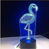 Flamingo 3D Led Lampe Kinder Geburtstagsgeschenk Nachtlicht Luminaria Power Bank Leuchten Luminaria De Mesa Wireless Wandleuchte