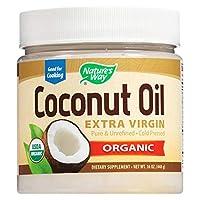Nature's Way Organic Coconut Oil, 448 g