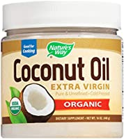 Nature's Way Organic Coconut Oil, 448 g