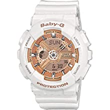 Casio Baby - G Classic Women's Watch in Resin with Acoustic Daily Alarm Timer and LED Light - Water & Shock Resistant
