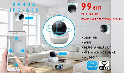 Dahua IPC-A35 3MP WI-FI PT Camera Con Slot SD
